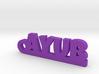 AYUB_keychain_Lucky 3d printed