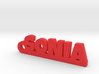SONIA_keychain_Lucky 3d printed