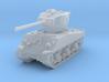 M4A3 Sherman 76mm 1/144 3d printed