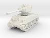 M4A3E8 Sherman 76mm 1/72 3d printed
