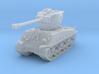 M4A3E8 Sherman 76mm 1/200 3d printed