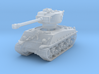 M4A3E8 Sherman 76mm 1/285 3d printed