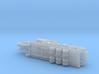 MAZ 543 / CHmZAP 9990 Tank Transporter 1/285 3d printed