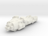 Matrix Nebuchadnezzar hovercraft/WHITE 3d printed
