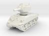 M4A3 Sherman 105mm 1/76 3d printed