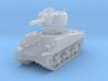 M4A3 Sherman 105mm 1/144 3d printed