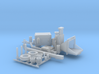 Wood Chipper 1-87 HO Scale 3d printed