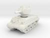 M4A3 HVSS 105mm (sandshield) 1/100 3d printed
