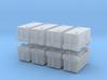 TLD ASU-600 Air Start Unit (x8) 1/350 3d printed