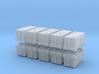 TLD ASU-600 Air Start Unit (x10) 1/400 3d printed