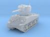 M4A3 Sherman 75mm 1/144 3d printed