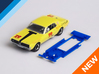 1/32 Scalextric Mercury Cougar Chassis IL pod 3d printed Chassis compatible with Scalextric Mercury Cougar body (not included)