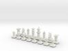 May Chess Set 3d printed