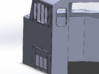 Crescent Cab - Athearn Genesis Conversion 3d printed Left Side detail