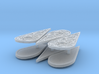 Gothic Shields (x6) 3d printed