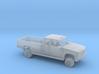 1/87 1989-98 GMC Sierra Ext Cab Custom L. Bed Kit 3d printed