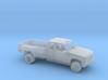 1/87 1990-98 GMC Sierra Ext Cab Dually Kit 3d printed