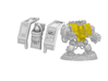 Space Knight Venerable Dreadnought Set 3d printed