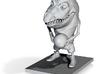 Toon Gator 3d printed