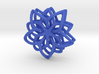 Flower Loops Pair 3d printed