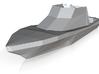 N Scale Yacht (14m) 3d printed