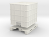 IBC Container Tank (separated) 1/64 3d printed