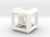 SCULPTURE: HyperCube Stand for 40mm 3d-Cross 3d printed