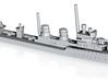 1/1200th class Beograd class destroyer 3d printed