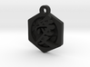 Mother's day gift Kanji Love necklace type1 3d printed