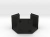 Half Hexbox (stackable) 3d printed