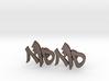 "Hebrew Monogram Cufflinks - ""Samech Aleph Vav"" 3d printed"