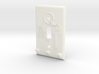Light Switch Key Hanger 3d printed