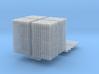 4x DIN-Palette mit Toilettenpapier 3d printed