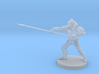 Ape Folk Lance Fighter 3d printed