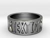Brunella - Ring - unique -  3d printed