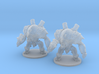 Mechguard 6mm Infantry Epic fantasy models golems 3d printed