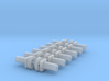 Bachmann N Scale - Chassis Fasteners & Washers x12 3d printed