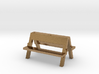 Carnival portable bench (single) 1:87 (H0 scale) 3d printed