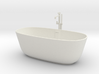 Bathtub with tap 1:24 3d printed