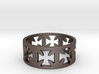 Outlaw Biker Cross Ring Size 14 3d printed