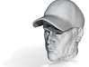 1:14 Head for Tamiya truck driver figure 3d printed