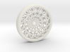 Triple Layered Spirograph Pendant 3d printed