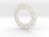 Hudson Clock Numbers - Raised - Full Thin 3d printed