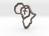 African Heart 3d printed