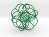 Inverted Rhombic Dodecahedral Lattice 3d printed