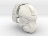 1:6 Scale Sci-Fi Pilot Helmet 3d printed