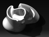 Ergonomic coffee cup by Georges-Paul  3d printed Top front view