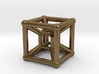 Tesseract Pendant 2 3d printed