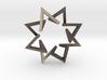Regular 3D Polygon: (+++---)^4 (medium) 3d printed