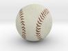 The Baseball 3d printed